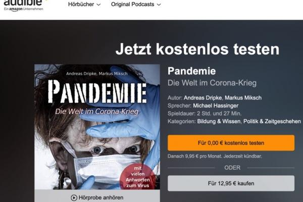 "Hörbuch ""Pandemie"""